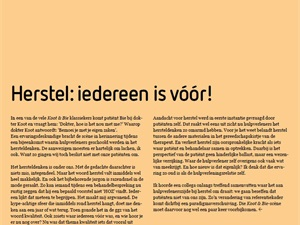Column Paul David Meesters in De Psychiater